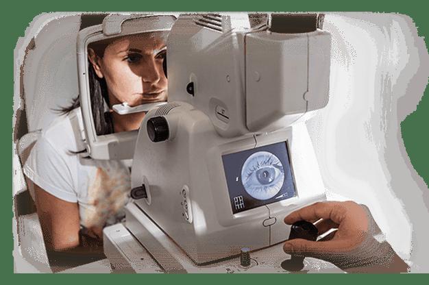 Herramienta Oftalmológica de HiMed solutions, examen oftalmológico