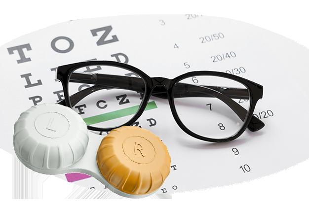 Formulación de anteojos y lentes de contacto